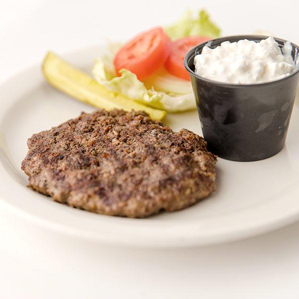 Walt's Burger Platter
