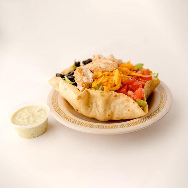 Walt's Chicken Taco Salad