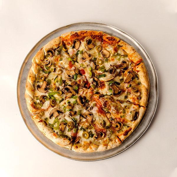 Walt's Double Decker Deluxe Pizza