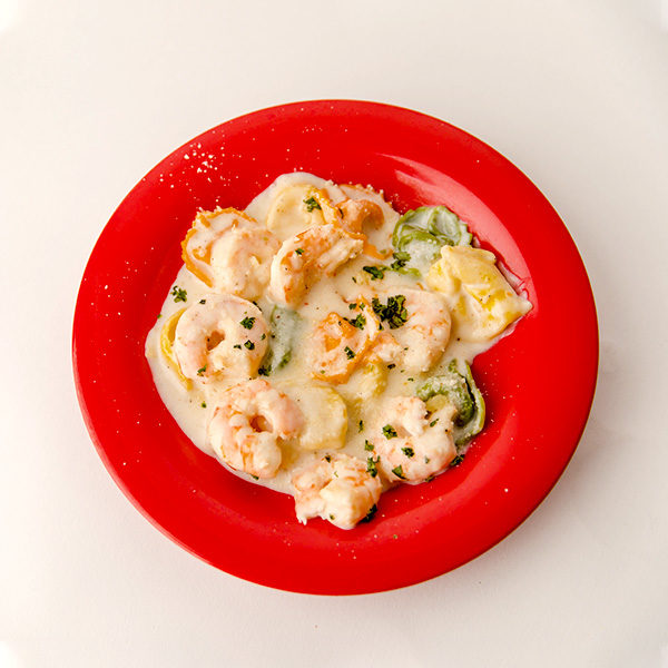 Walt's Shrimp Asiago Pasta